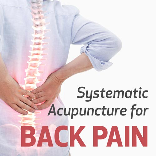 Systematic Acupuncture for Back Pain
